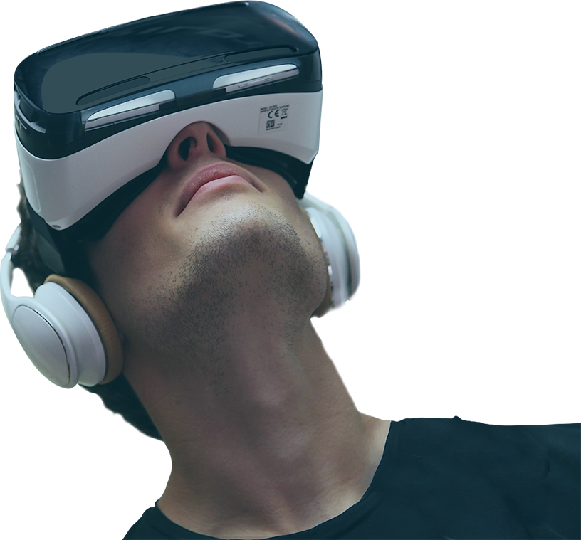 Samsung Gear VR user